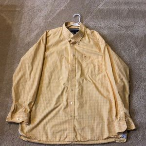 Tommy Hilfiger 2X button up long sleeve shirt